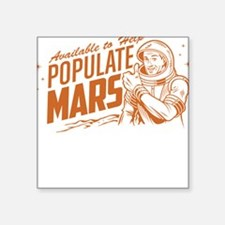 Available To Populate Mars (Man) Sticker