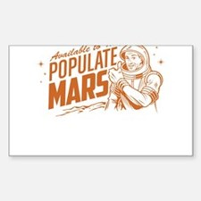 Available To Populate Mars (Man) Decal