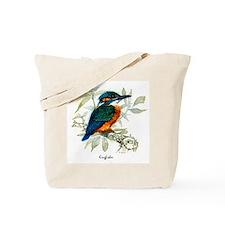 Kingfisher Peter Bere Design Tote Bag
