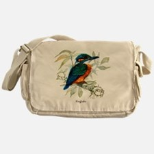 Kingfisher Peter Bere Design Messenger Bag