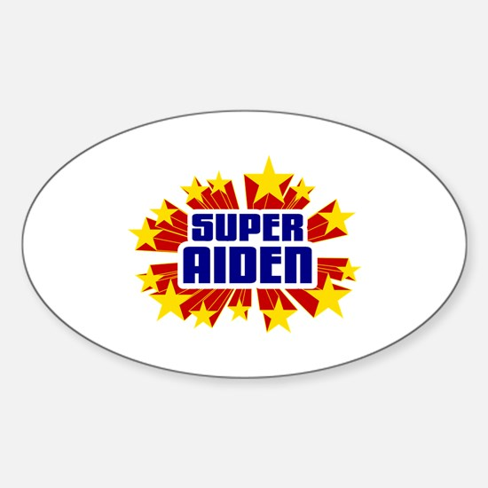 Aiden the Super Hero Decal