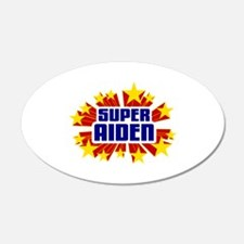 Aiden the Super Hero Wall Decal