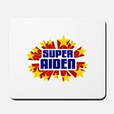 Aiden the Super Hero Mousepad