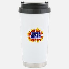 Aiden the Super Hero Travel Mug