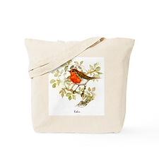 Robin Peter Bere Design Tote Bag