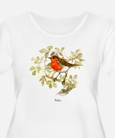 Robin Peter Bere Design T-Shirt