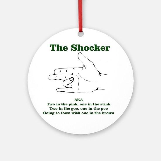 The Shocker...AKA...... Ornament (Round)