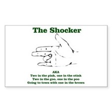 The Shocker...AKA...... Rectangle Decal