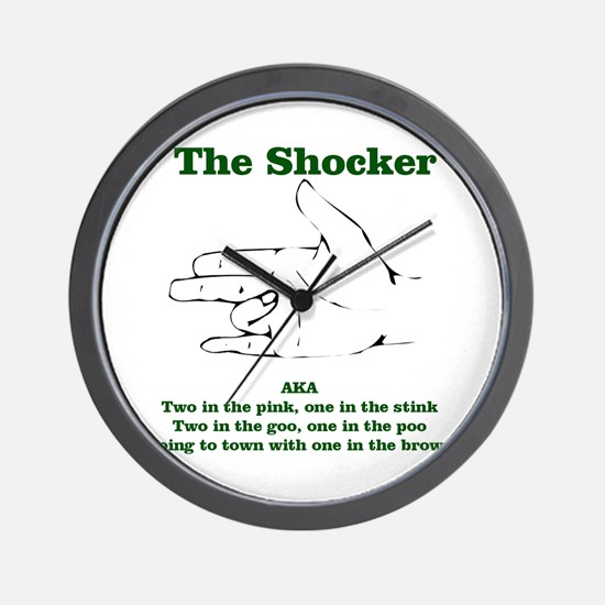 The Shocker...AKA...... Wall Clock