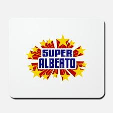 Alberto the Super Hero Mousepad