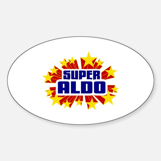 Aldo the Super Hero Decal
