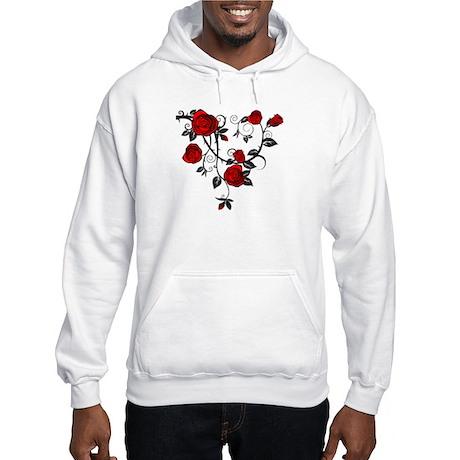 Rose Hooded Sweatshirt