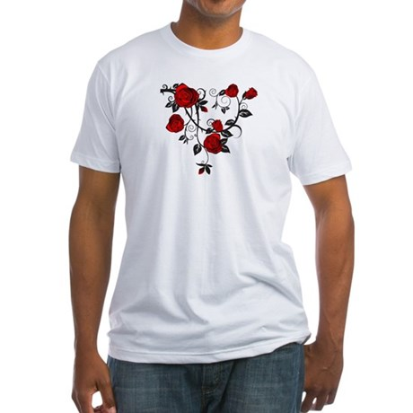 Rose Fitted T-Shirt