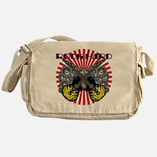ROCK HARD-GUITAR-RED Messenger Bag
