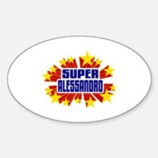 Alessandro the Super Hero Decal