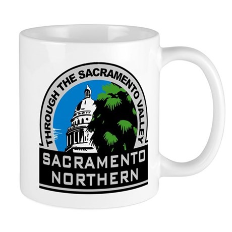 Sacramento Northern Mug