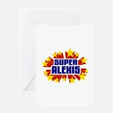 Alexis the Super Hero Greeting Card