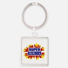 Alexzander the Super Hero Keychains