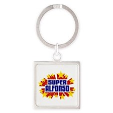 Alfonso the Super Hero Keychains