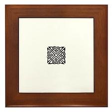 Unique Trinity knots Framed Tile