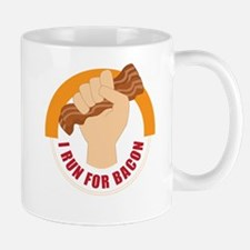 I Run For Bacon Mug