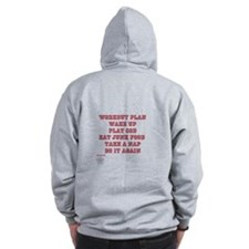 Team Flurry Game ware Zipped Hoody