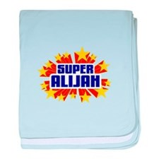 Alijah the Super Hero baby blanket