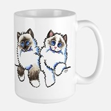 Ragdolls Pair Off-Leash Art™ Mug