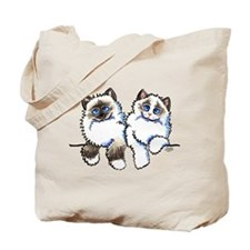 Ragdolls Pair Off-Leash Art™ Tote Bag