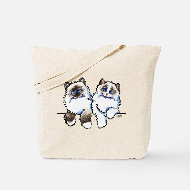 Ragdolls Pair Off-Leash Art™ Tote Bag
