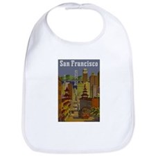 Vintage San Francisco Travel Bib