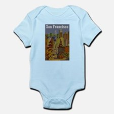 Vintage San Francisco Travel Body Suit