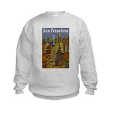 Vintage San Francisco Travel Sweatshirt
