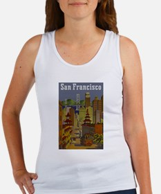 Vintage San Francisco Travel Tank Top