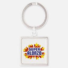 Alonzo the Super Hero Keychains