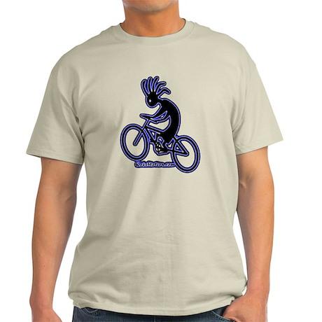 mt biking 2000X2000 glow on transparent T-Shirt