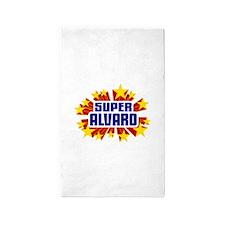 Alvaro the Super Hero 3'x5' Area Rug