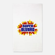 Alvaro the Super Hero 3'x5' Area Rug