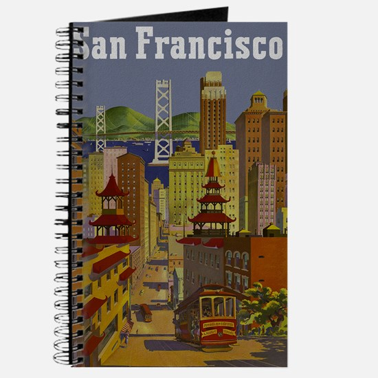 Vintage San Francisco Travel Journal