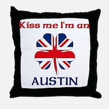 Austin Family Throw Pillow