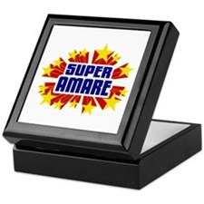 Amare the Super Hero Keepsake Box