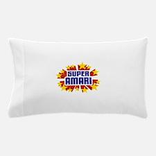 Amari the Super Hero Pillow Case
