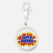 Anderson the Super Hero Charms