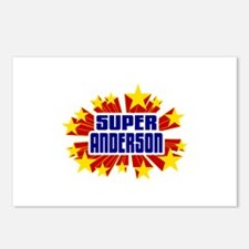 Anderson the Super Hero Postcards (Package of 8)