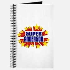 Anderson the Super Hero Journal