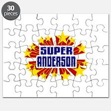 Anderson the Super Hero Puzzle