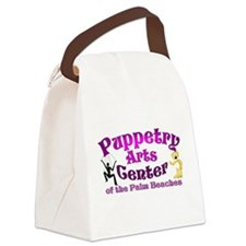Cool Puppetry Canvas Lunch Bag