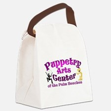 Funny Puppetry Canvas Lunch Bag