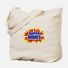 Andres the Super Hero Tote Bag