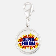 Andy the Super Hero Charms